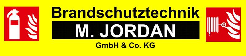 Brandschutztechnik Jordan Logo